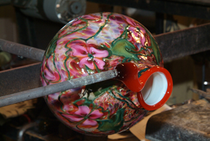 Lotton Art Glass- Creating Art